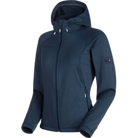 Mammut Runbold ML Hooded Jacket Women marine dark melange